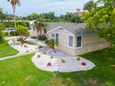 Photo for Carlouel Cottage 975 Private Home with Swim Spa/Pool Short walk to the Beach