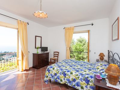 Photo for Apartment with Sea View Terrace and Shared Swimmingpool