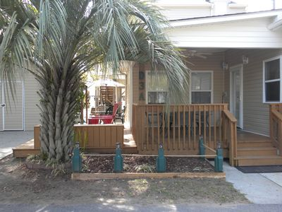 Enjoy the outdoor decks in the shade or in the sun! One level home.
