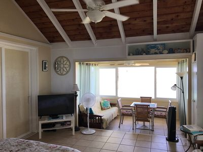 Photo for BEACHFRONT vacation Cottage (second floor), steps from the beach!