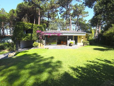 Photo for Holiday home, situated in the pinewood, 10 minutes walk from the beach.