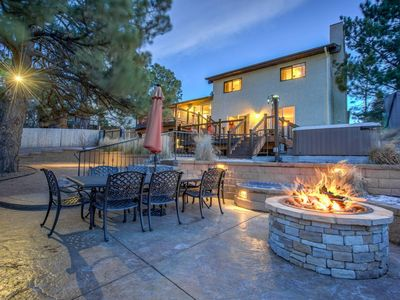 Photo for ★ 4BR Entertainer ★ AF Academy ★ Hot tub, Firepit!