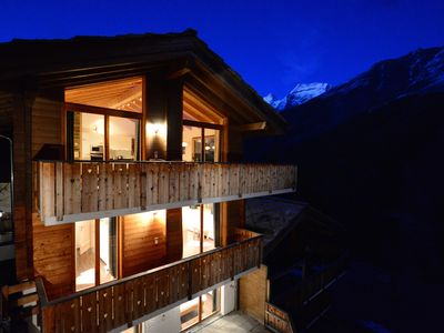 Photo for Luxurious 5 * Interior Designed Chalet with Unique Breathtaking Views