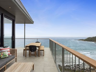 Photo for Perched above Wye River with arguably the best ocean views in town!