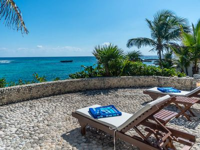 Photo for Style, Beauty plus direct access to snorkeling in Yalku Lagoon can be yours