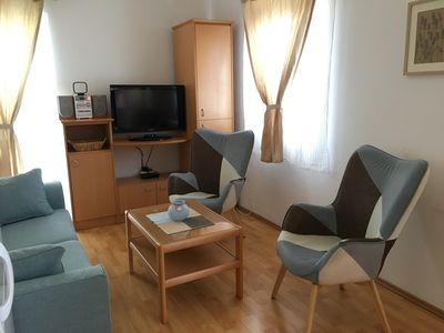 Photo for Cosy apartment in Stari Grad, island Hvar -free WI FI, air conditioning, parking