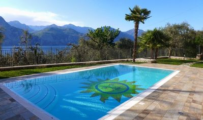 Photo for Holiday apartment Brenzone for 4 - 7 persons with 3 bedrooms - Holiday apartment