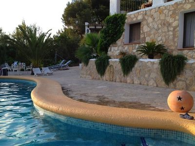 Photo for The Oasis of Moraira in a natural and relaxed environment, close to the beach.