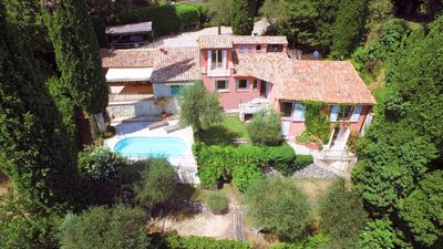 Photo for Quiet villa in Cabris (French Riviera - Alpes Maritimes)