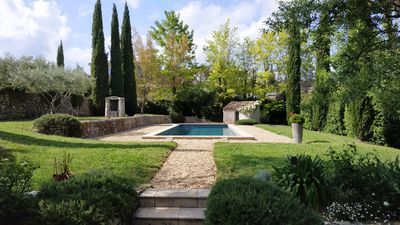 Photo for Beautiful charming Bastide 5 'walk from the center of Lorgues en Provence.