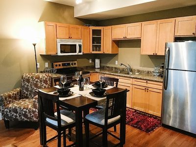 Photo for Two bedroom family friendly suite minutes from 3 beaches and multiple wineries!