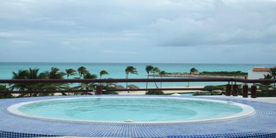 Photo for Private Beach Ocean View 2 Bedroom with Jacuzzi