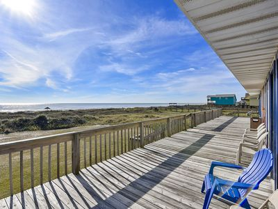 Photo for Casa Bonita Surfside: Private Beachfront Home in Surfside with Amazing Views!
