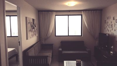 Photo for Beautiful! Furnished, 02 qtos double, with privileged view of Fortaleza.
