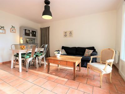 Photo for Le Beauvallon 2 Bedrooms calm balcony free parking long term welcome
