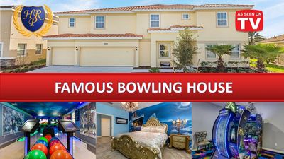 AS SEEN ON TV Mansion, Bowling, Halo Virtual Arcade Game, Sleeps 36