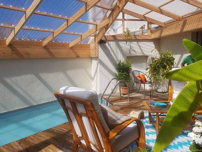 Photo for seaside villa with pool