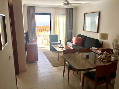 Photo for Apartment 2 bedrooms 6 persons private terrace pool spa wifi sea view