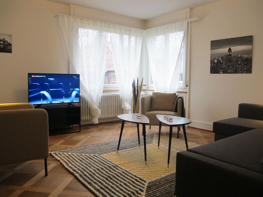 Appartement nouvellement meubl zurich homelidays for Agence immobiliere zurich