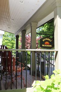 Front porch, perfect for coffee