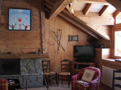 Photo for Luxury apartment in the heart of Chamonix with exceptional views of Mont Blanc