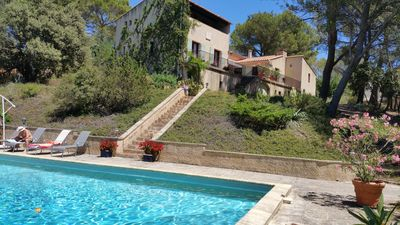Photo for VILLA OF PROVENCAL CHARACTER 300M2 LUBERON SOUTH IN FRAME OF GREENERY