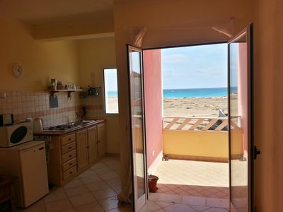 Photo for Spacious apartment with amazing sea views