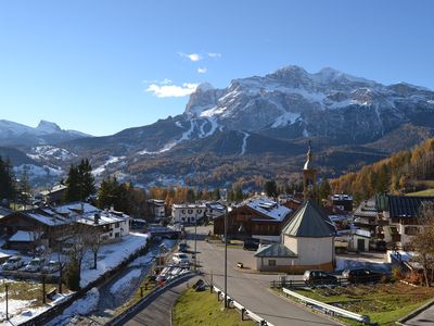 Photo for Apartment with stunning views of the Cortina d'Ampezzo Dolomites