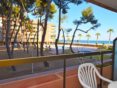 Photo for Torredembarra Apartment, Sleeps 4 with Pool and Free WiFi