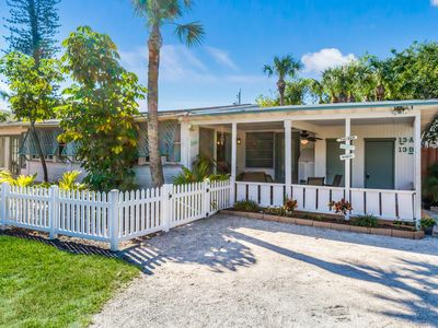 Photo for Location. Four bedroom cottage, one block from beach and Siesta Village