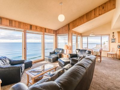 Photo for Enjoy the best views in Lincoln City at this 3 level home w/ sleeping for 12!