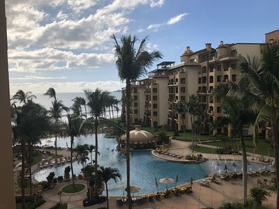 Photo for New: #1Rated Full Service Oceanfront condo w/ Pool views, 17K sq ft spa onsite