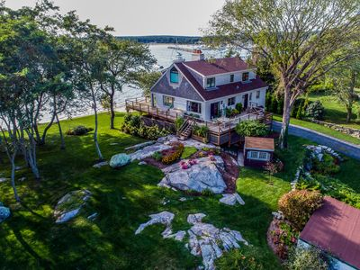 Photo for EXCLUSIVE NOANK, CT WATERFRONT PROPERTY WITH TWO SANDY PRIVATE BEACHES