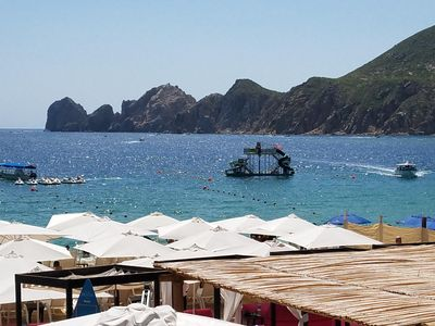 Photo for Beautiful Cabo On The Beachfront Where The Pacific Ocean And Sea Of Cortez Meet!