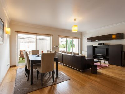 Photo for Spacious Expo Terrace apartment in Parque das Nações with WiFi, private terrace & lift.