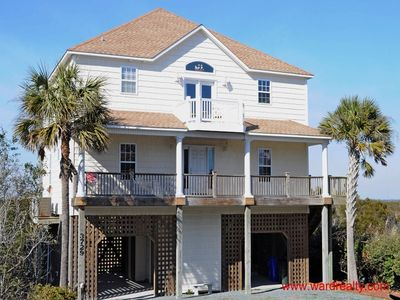 Photo for Great Sound Views from this Lovely 5BR Home; Elevator - Heron Hideaway