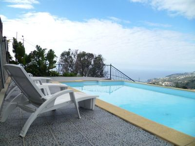 Photo for Large Luxury Villa, Heated Pool,  Games/Gym Room,  Sea and Mountain Views