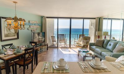 Photo for Avail 7/27-8/5. Beachfront updated condo! 2BD/2BA Sleeps 6 w/ MyPillows & Toppers!