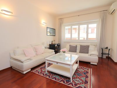 Photo for St Peter new and lightsome apartment with balcony - Apartment for 4 people in Roma