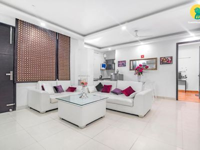 Photo for 3BHKApartment for Medical Tourism Near AIMS,Fortis at Chattarpur, New Delhi.
