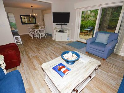 Photo for 2249 Heritage Villa | Walk to Harbour Town | Updated Kitchen | Complex Pool | Sea Pines
