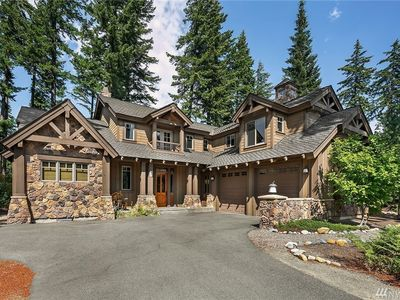 Photo for Exquisite Suncadia home located on  golf course with all the bells and whistles!