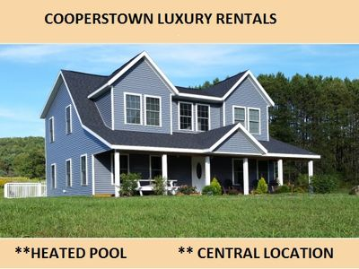 Photo for 5 Bedroom Home with Heated Pool Just 4 Miles from Cooperstown and Dream's Park
