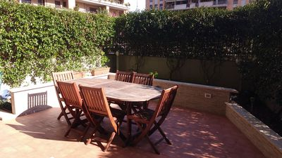 "Photo for bi-level apartment ""Roman holiday"" in Fiumicino with large terrace"