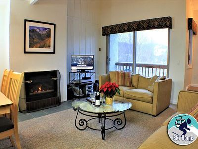 Photo for Location location location! Three bedroom condo, shuttle to Slopes/Ski home
