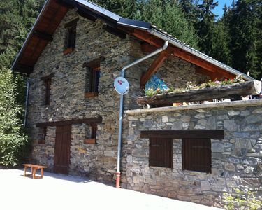 Photo for Complete cottage on 5000m, 1500m above sea level, halfway La Rosiere and Seez