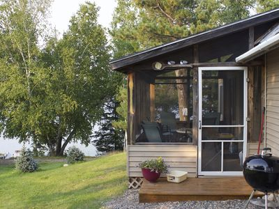 Photo for Beautiful  (3 bed) Lakeside Cabin on Private Lake