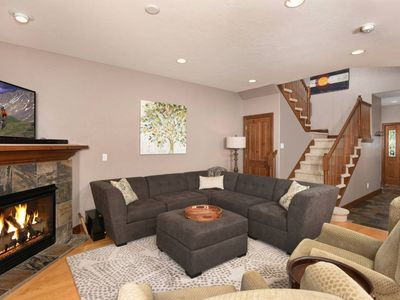 Photo for Amazing Townhome minutes to Downtown Breck w/ Free Shuttle & Private Spa