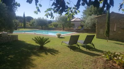 Photo for Provençal Mas of 200m2, air-conditioned with swimming pool classified 4 * Nice benefits