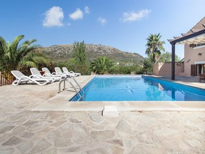 Photo for CA NA FIGUERA - Four Bedroom Villa, Sleeps 8